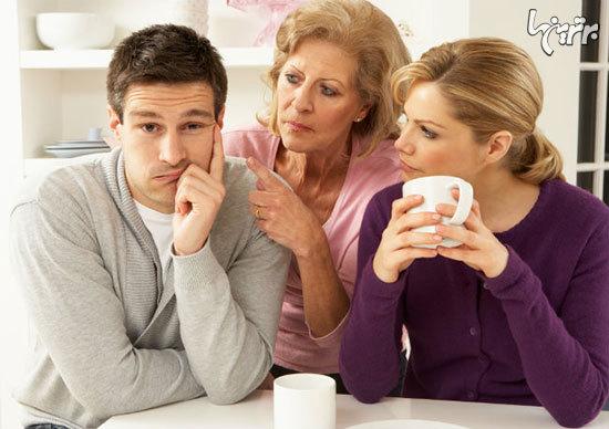 ۱۰ جمله ای که هرگز نباید به مادرشوهر گفت