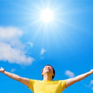 ۶ درمان قطعی با نور خورشید