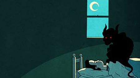 ۱۰ ویژگی بختک یا فلج خواب