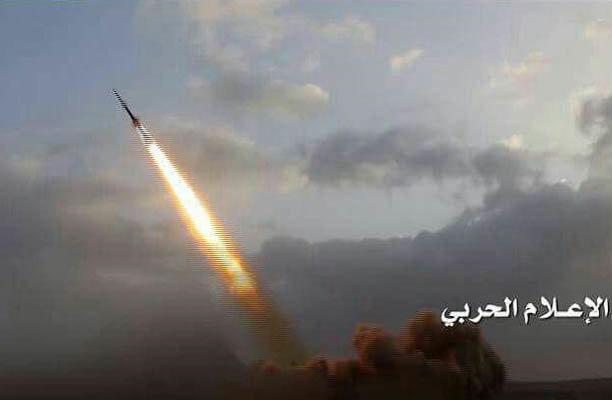ائتلاف سعودی به شلیک موشک بالستیک انصارالله واکنش نشان داد