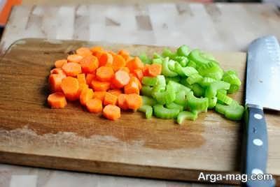 کرفس و هویج